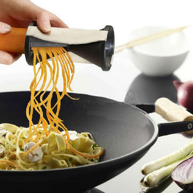 Gadgets Vegetable Shred Device Kitchen Spiralizer Spiral Slicer Carrot Radish Cutter Graters Kitchen Accessories Cooking Tool
