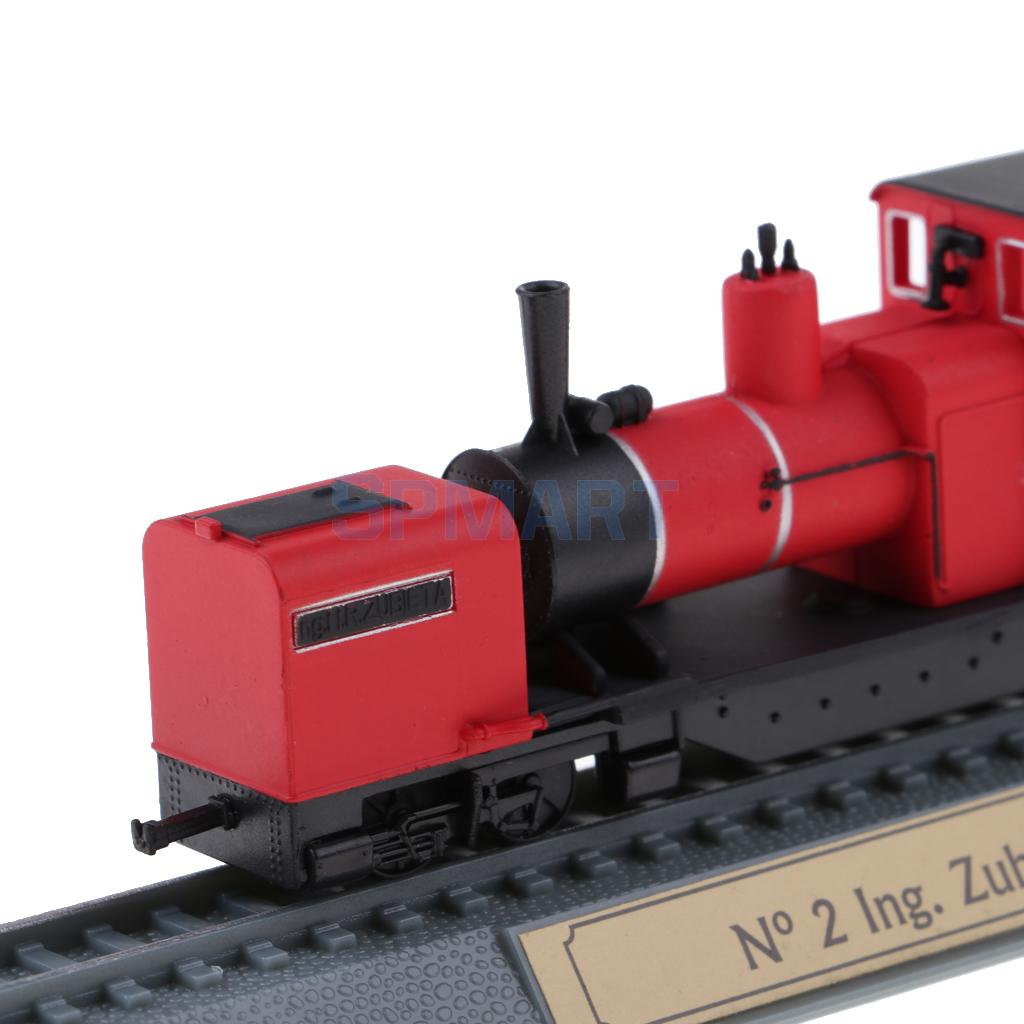 MagiDeal 2Pcs Steam Engine Locomotive Model Layout Train Toy Living Room Home Office Bookshelf Decor Children