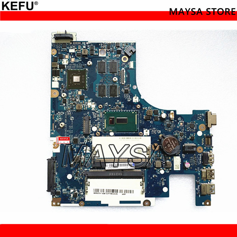 Laptop Motherboard Fit For Lenovo G50-80 Motherboard ACLU3/ACLU4 <font><b>NM</b></font>-<font><b>A361</b></font> SR1EK i3-4005U DDR3 2GB video card , 100% Fully Tested image