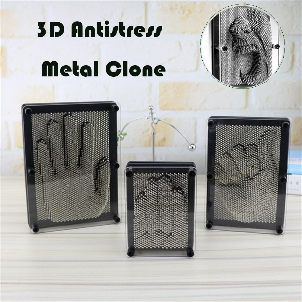 Toys 3d Antistress Clone Fingerprint Needle Painting Gag Christmas Kids Gift Party Hobby Funny Toy Gift Drop Shipping Novelty & Gag Toys