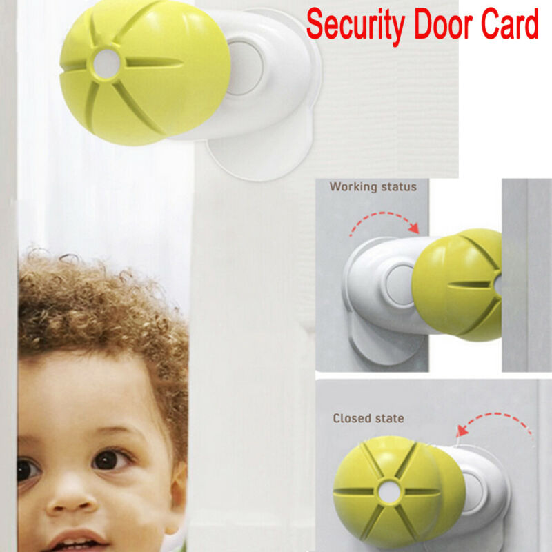 New Child Baby Kids Safty Lock For Cabinet Drawers Fridge Door 180 Degree Rotary