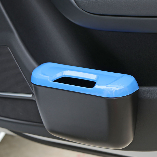 Mini Car Auto Rubbish Dustbin Trash Can Garbage Dust Case Box Car Storage Case Car Trash Bin Car Accessories