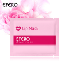 efero Lip Mask Crystal Collagen Wrinkle Repair Skin Care Moisture Essence Nourish Whitening Membrane Lip Pump Enhancer Patches