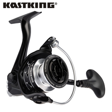 Carbon-Spinning-Reel 11-Ball-Bearings Kastking Eagle Drag 10kg Max for Bass Pike Fishing