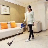 Quiet Vacuum Cleaner Mini Car Home Rod Portable Telescopic Dust Collector Household Aspirator Handheld Cleaning Collector
