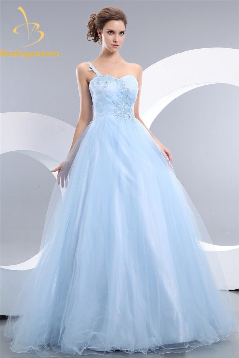 Bealegantom 2019 robe De bal Quinceanera robes One Shooulder à lacets doux 16 robes robe De soirée Vestidos De 15 Anos QA1038