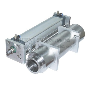 Piston cylinder and air cylinder for pneumatic filling machine driving unit of a filler 100-5000ml SS304, AIRTAC semiauto filler original airtac rodless magnetic cylinder with guide rmt series rmt20x300sa page 6