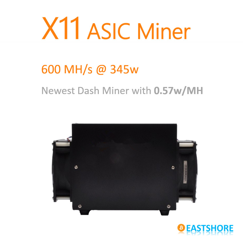 [SOLD OUT] X11 Miner 600MH ASIC X11 Dash Miner PinIdea Dr3 600MH with only 345W