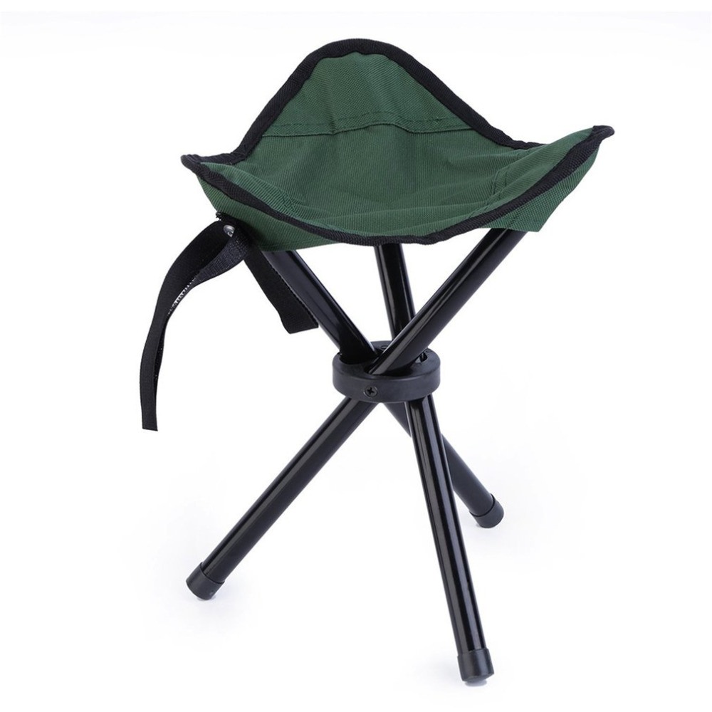 High Quality Outdoor Camping Tripod Chair Plus Size Foldable Portable Fishing Chair Ultralight Folding Chair US Stock