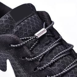 1 пара эластичных шнурков для шнурков, с круглым носком, без галстука, для детей и взрослых, кроссовки с шнурками, быстросохнущие шнурки для