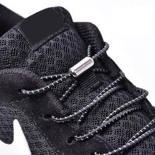 1 para elastyczne sznurowadła okrągłe buty bez sznurówek sznurowadła dla dzieci trampki dla dorosłych sznurowadła szybkie leniwe buty koronkowe sznurowadła 25 kolorów tanie tanio YuanXiangZhu Stałe Elastic locking shoelaces T3-1 Poliester About 105cm 25 colors