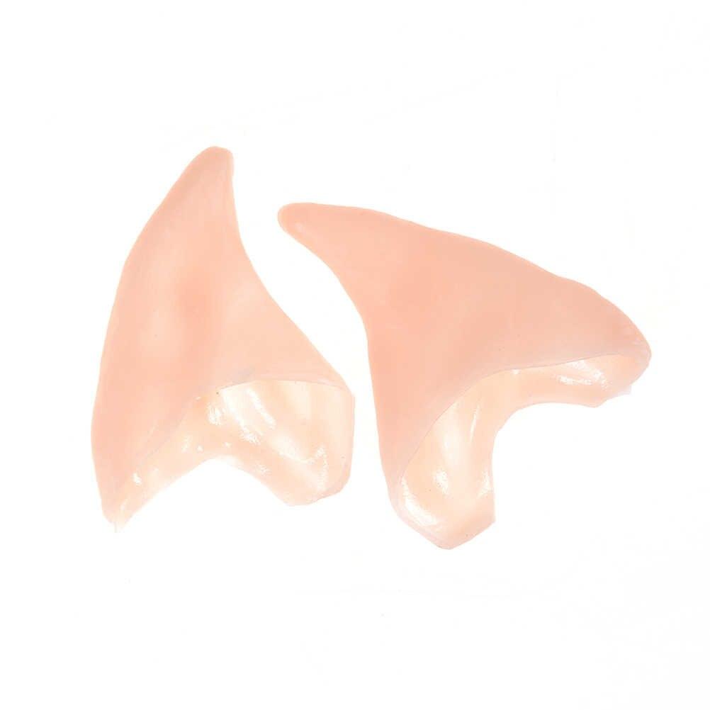1 пара, Новые Вечерние латексные мягкие остроконечные протезирование наконечники, ушные латексные фея пикси эльфийские уши, аксессуары для косплея LARP