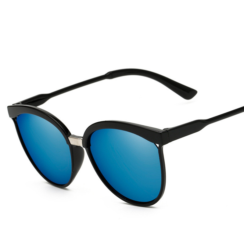 Fashion Cat Eye Sunglass Women Men Vintage Mirror Sunglasses Women Brand Designer Retro Sun Glasses Goggles Eyewear UV400 1