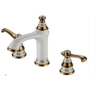 new arrival fashion high quality chrome and green Copper  cold hot bathroom sink faucet basin mixer - discount item  30% OFF Bathroom Fixture