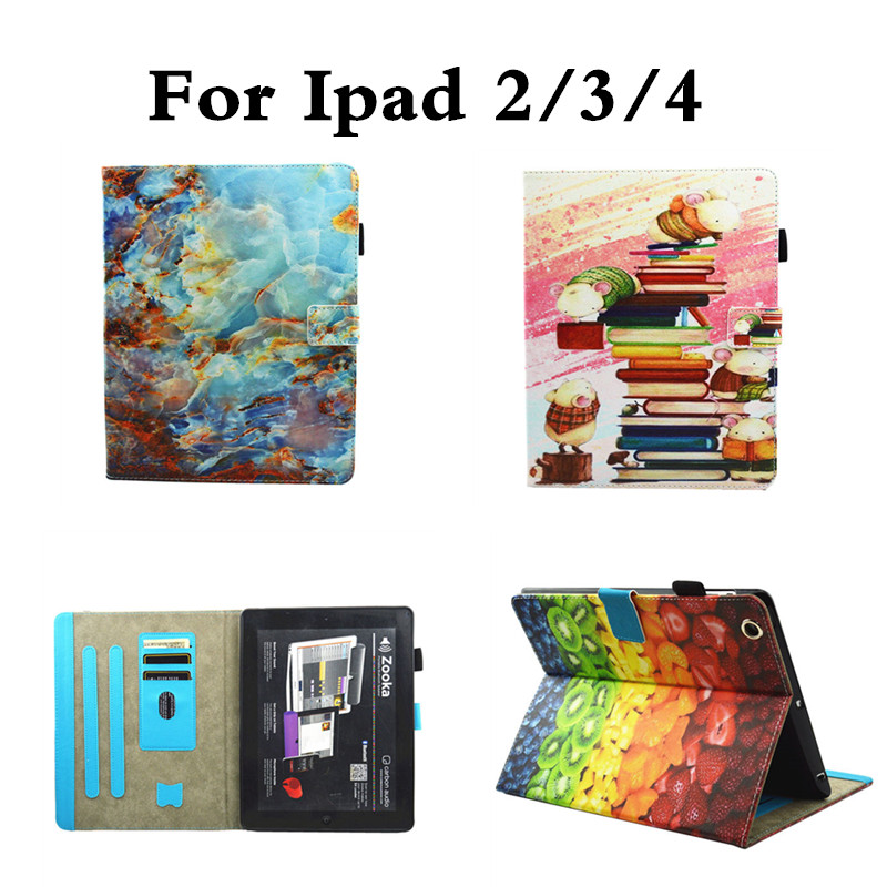 Luxury designs Cover For Apple iPad 2 3 4 PU Leather Silicone TPU Back Cover Stand Flip Kids Case For ipad2 ipad3 ipad4 for ipad mini4 cover high quality soft tpu rubber back case for ipad mini 4 silicone back cover semi transparent case shell skin