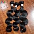 Newness 7A Indian Virgin Hair Body Wave 3 Bundles Wet And Wavy Human Hair Body Wave Virgin Hair Human Hair Weave Bundles