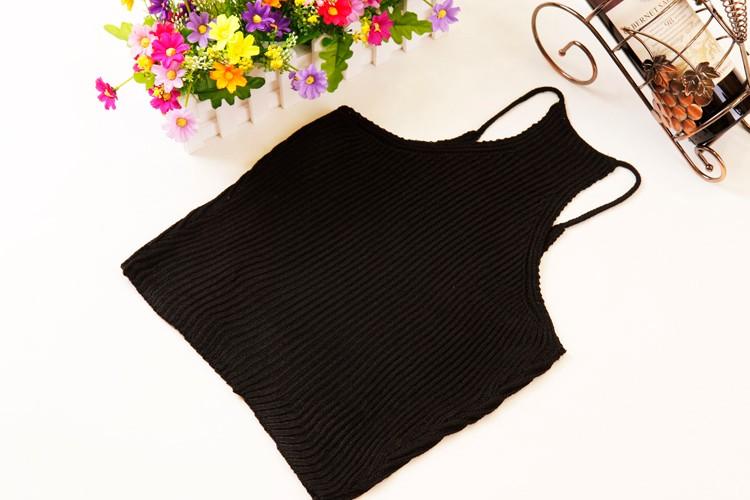 HTB1xVMuLFXXXXXnXFXXq6xXFXXXK - FREE SHIPPING Women's Short Cropped Knitted Tank Tops JKP308