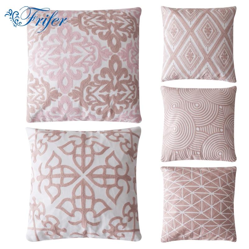 Moderno Divano Cuscino In Cotone Lino Federa Tiro Cuscino Decorativo - Tessili per la casa