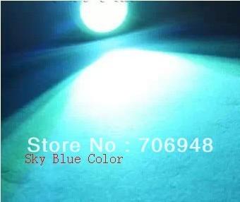 High Power 0.5W 5730 SMD Sky Blue LED Beads 15LM 3-3.4V 150MA PB Free