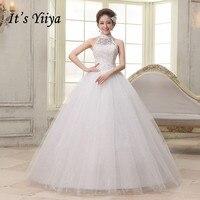 d8da885998 2017 New Halter Lace Sex Simple Wedding Gowns White Princess Cheap Plus  Size Bride Dresses Vestidos