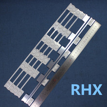 20 Pcs Retroilluminazione a Led Strip Bar per Konka KDL48JT618A/KDL48SS618U 35018539 6 Led (6 V) 442 Millimetri 100% Nuovo