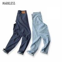 Markenlose Mode Für Männer Jeans Gewaschen Männlichen Sommer Dünnflüssigen Lichtfarbe Dünne Hosen Dünne Bleistift Beiläufige Jeans Leinenhose