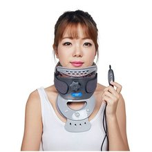 neck traction Tractor Cervical Stretcher Household Appliance Adult Vertebral Cervix Traction Device Home Medical Hot Compress недорого
