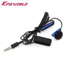 10 pcs 3.5mm Kabel Kontrol Gaming Mikrofon handsfree Headset Earphone Dengan MIC ON / OFF Untuk Sony Untuk playstation 4 Untuk PS4