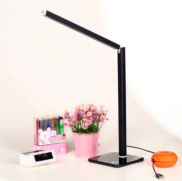 2016 nova dobrável 2835SMD LED ajustável lâmpada de leitura estudo 4 cor disponível, Produção de cabeceira lâmpadas de trabalho