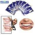 14 Pares Novos Dentes Branqueamento Tiras de Gel Limpador de Clareamento Dental Care Higiene Oral Clareamento dental Branqueador Branquear Os Dentes Ferramentas
