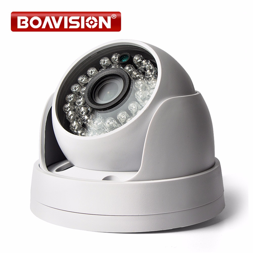 HD 720P 1080P IP Camera Dome IR Night Vision Network P2P Android iPhone  XMEye View 1 0MP 2MP CCTV Security Camera IP Onvif
