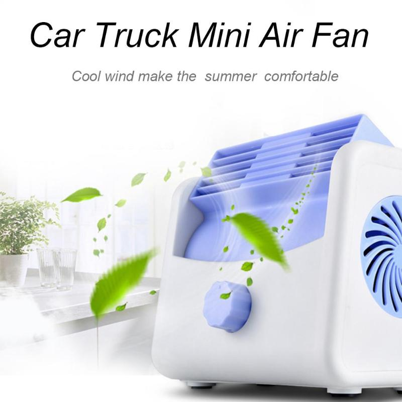 DC 12V/24V Bladeless Car Truck Strong Wind Cooling Air Fan 2-Speed Silent Cooler Air Conditioner Fans Air Cooling Fan for Car dc12v variable speed compressor suitable for truck cabin air conidtioner or boat air conditioner with controller