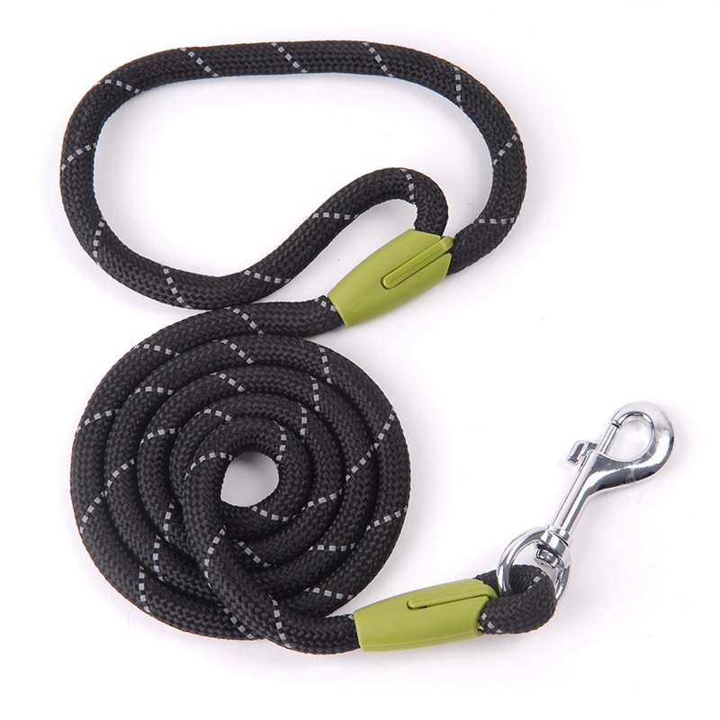 Dog Leashes For Small Large Dogs Leash Pet Products Reflective Dog-Leash Rope Dogs Lead Cat Collar Harness Nylon Running Leashes (10)