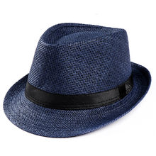 Smple Summer Parent-child Beach Hat Female Casual Panama Hat Lady Brand Women Flat brim Bowknot Straw cap girls Sun Hat 71#45(China)