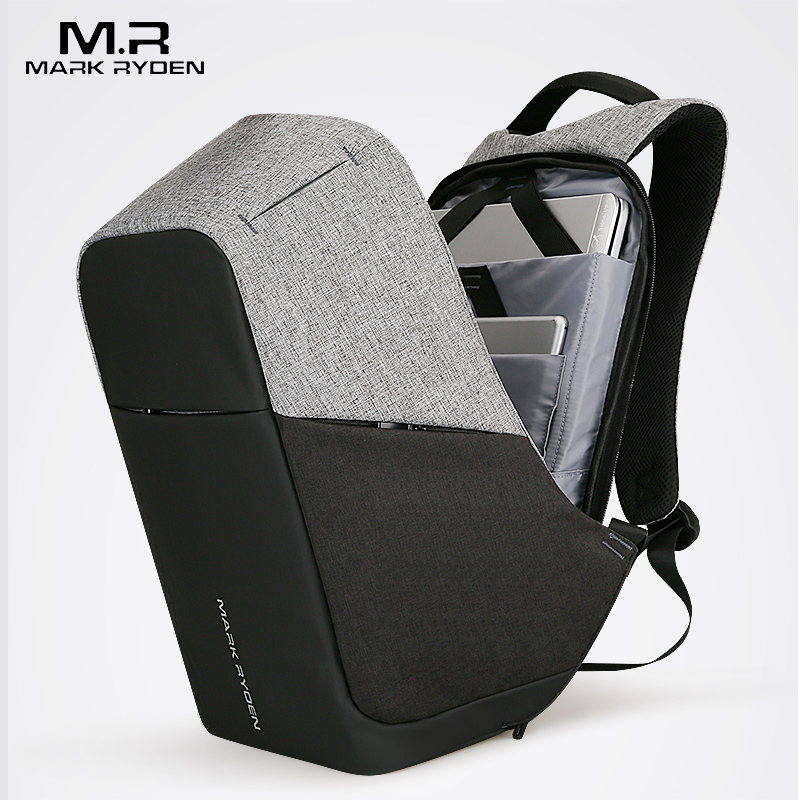 Mark Ryden multifonction usb de charge Hommes 15 pouces sacs à dos d'ordinateur portable Pour Adolescent De Mode mochila mâle sac à dos de voyage anti voleur