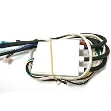 Всего 14 проводов Универсальный DC 3 в газовая плита двойное зажигание с контролем температуры и дисплеем импульсный воспламенитель 1 шт