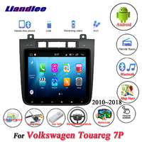 Liandlee For Volkswagen VW Touareg 7P Stereo Car Radio Camera Carplay Wifi GPS Map Navi Navigation Android System NO DVD Player