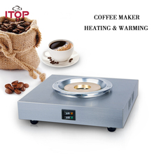 ITOP 1 Boiler 1 Warmer Coffee Maker Automatic Americano Coffee Machines Hot Heating/Warming Plate For Coffee Shop hl series desk top commercial water boiler machine milk warmer boiler for coffee bar shop 6 liters