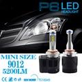 1 Set 9012 HIR2 110W 10400LM P6 LED Headlight LUMILED MZ 4SMD CHIP 3000K 4300K 5000K 6000K CANBUS NO Flicking Driving Bulb 55W