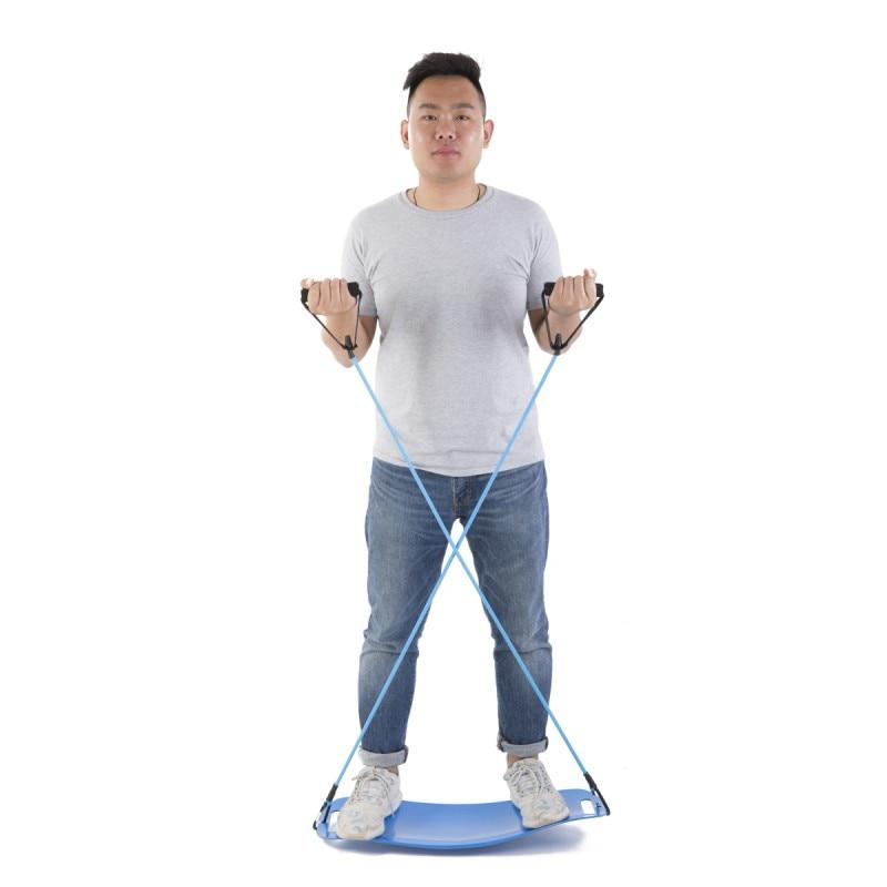 Entraînement Simple de noyau de conseil d'équilibre de forme physique de torsion pour des Muscles abdominaux et des jambes