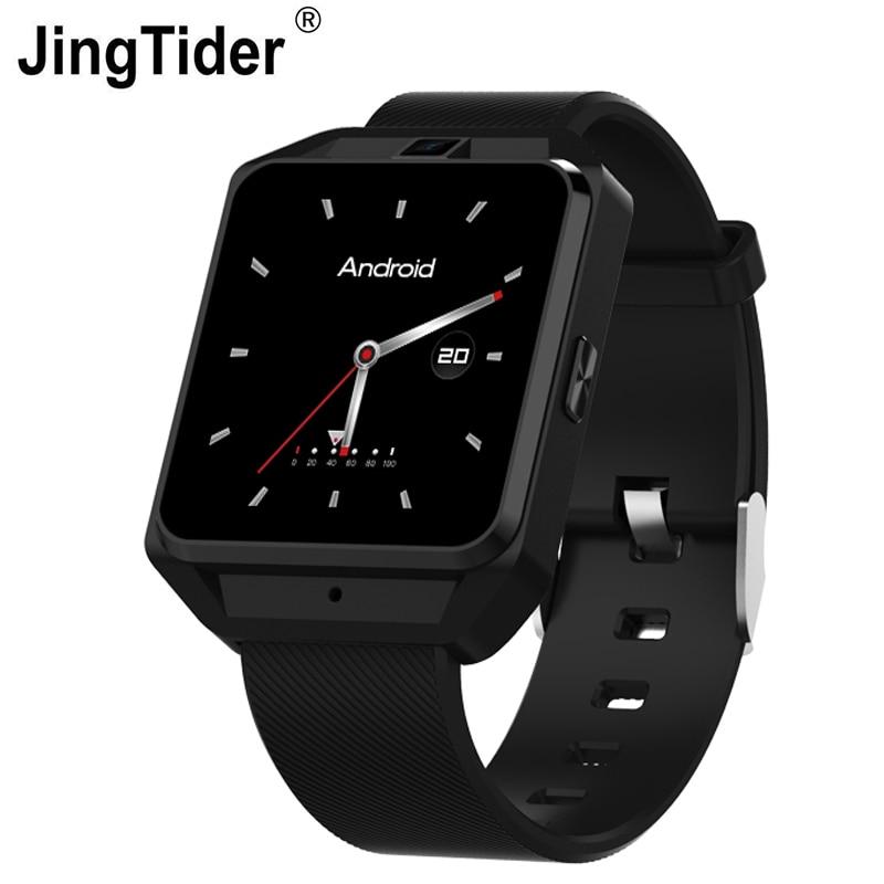 Montre intelligente Android JT3 4G 1 GB Ram 8 GB Rom MTK6737 Quad Core TDD LTE 600 mAh Android 6.0 montre-bracelet intelligente Wifi GPS Sim Bluetooth