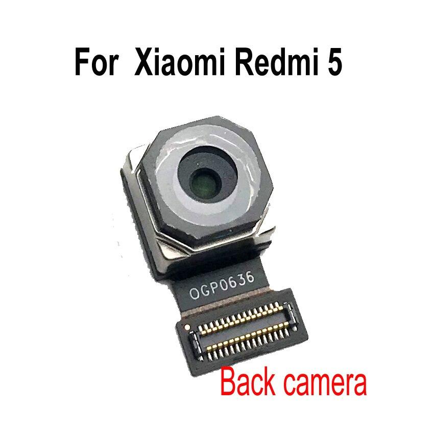 LTPro  Rear Big Back Camera Module Flex Cable For Xiaomi Redmi 5 5A / 5 Plus / Note 5A Front Camera Phone Parts