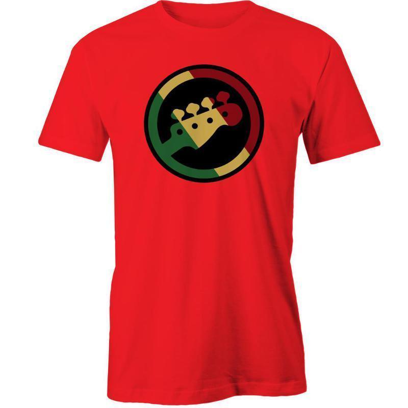 2018 Summer Style T Shirt Rasta T-Shirt Guitar Music Gift Idea  Size Cotton Tees  Shipping