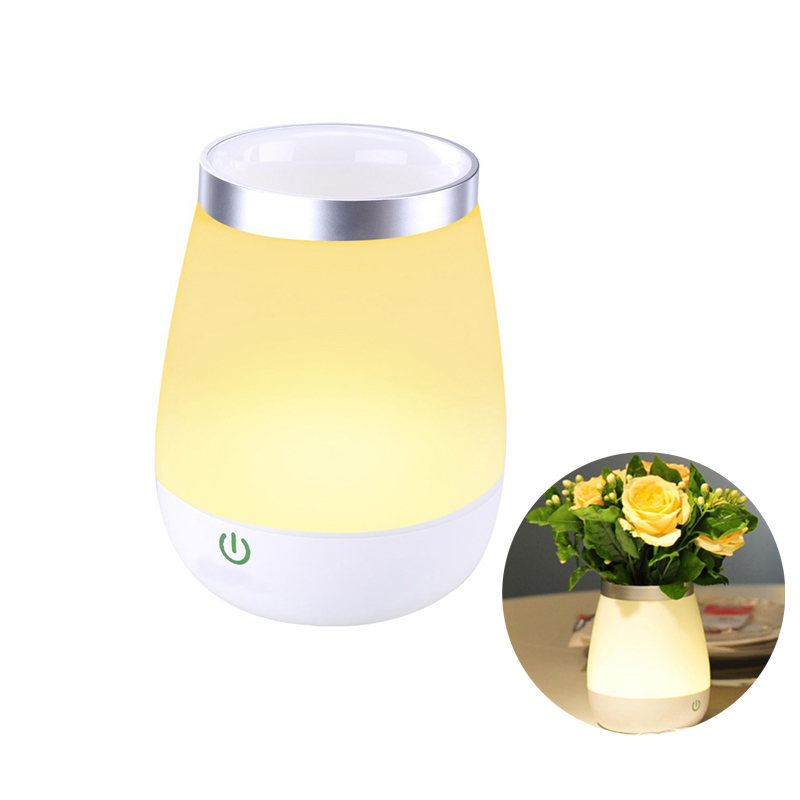 Night lights For Children USB Rechargeable Baby Table Lamp All in 1 Cordless LED Touch Vase Lamp +USB Cable