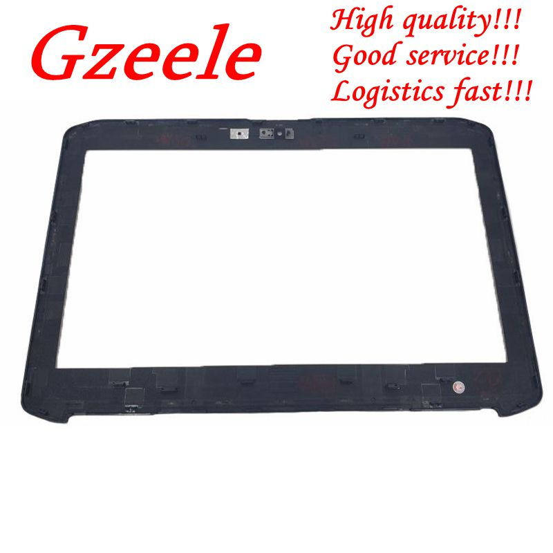 GZEELE New For Dell Latitude E5420 LCD FRONT TRIM BEZEL WITH WEBCAM PORT 2KV9G 02KV9G Bezel Case