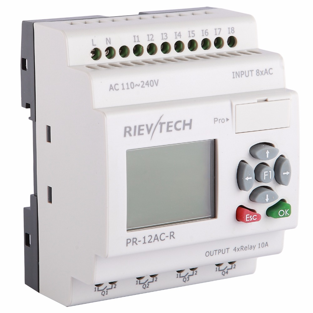 RIEVTECH Micro Automation sulutions provider programmable logic controller relay PR 12AC R