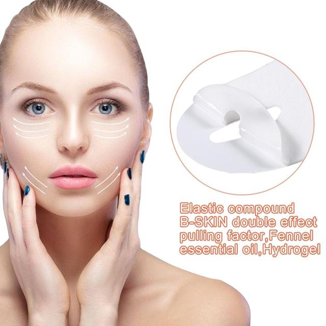 Miracle Lifting Facial Mask V Shape Face Slim Chin Check Neck Lift Eliminate Edema Firming Thin Whitening Pulling Mask Skin Care 5