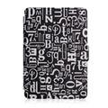 Suporte de couro inteligente caso capa protetora funda para ereader amazon kindle paperwhite1/2 2nd generation protector + tela + stylus