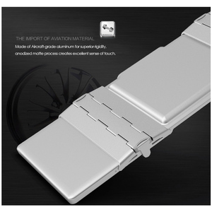 Image 2 - B.O.W بلوتوث صغير لوحة المفاتيح طوي ، للطي الألومنيوم الحال بالنسبة iOS ، أندرويد ، ويندوز ، الكمبيوتر ، أقراص والهاتف الذكي