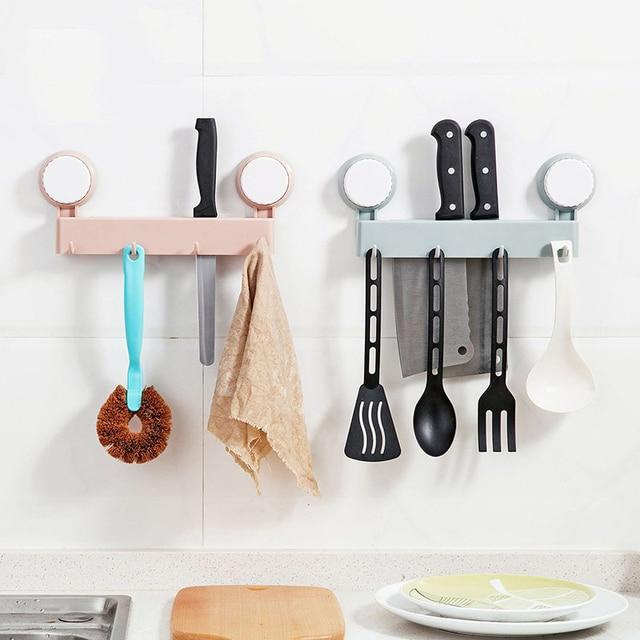 Kitchen Debris Rack Storage Kitchen Utensils Storage Box Holder Sucker Hanging  Holder Kitchen Knives U0026 Accessories